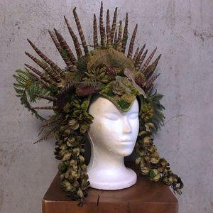 Mother Nature Goddess headdress by Miss G Designs